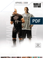 TITLE Boxing/MMA 2009 Apparel Catalog