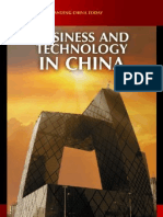 Business and Technology in China by Jing Luo