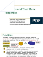 1. Functions and Their Properties