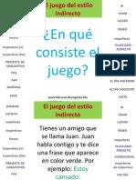 eljuegodelestiloindirecto-110209080443-phpapp02