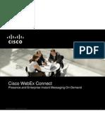 Cisco WebEx Connect C6 Overview BDM - Copy