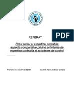 Rolul Expertizei Contabile-notiuni Comparative