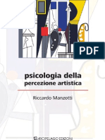 Riccardo Manzotti-Psicologia Della Percezione Artistica - Indice e Capitolo 1