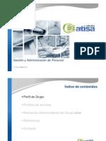 Presentación corporativa de servicios generales y GAP