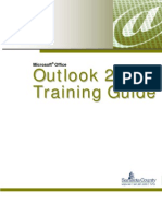Microsoft Office Outlook 2007 for Training