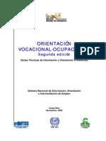 Guía de Orientación Vocacional-Ocupacional