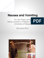 Nausea and Vomiting_Dr Lam Chee Loong