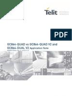 Telit Gc864-Quad Gc864-Quadv2 Dualv2 Application Note r0