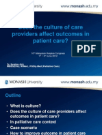 Care Providers Culture_Dr Ibrahim Aziz