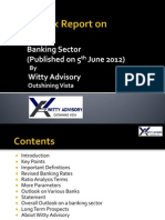 Research on Banking Sector by Witty Advisory