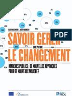 Savoir Gerer Le Changement - MARCHES PUBLICS