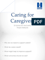 Caring for Caregivers_Dr Sylvia