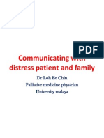 Communicating With Distress Patient and Family_Dr Loh Ee Chin