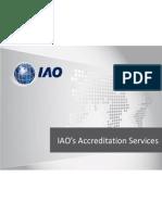 IAO's Accreditation Services