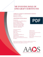 Bone Graft Substitutes 2010