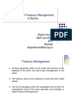 Integrated Treasury Management in Banks