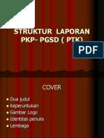 Struktur Laporan Pkp- Pgsd ( Ptk)