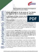 DEPORTES Noche Del Deporte de La CAM