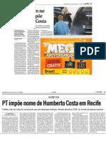 Cassação de João na imprensa nacional