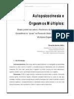 Autopsicocinesia e Orgasmos Múltiplos