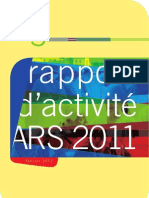 Rapport Activite Ars 2011