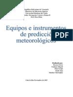 Trabajo Instrumentos y Equipos Meteorologicos