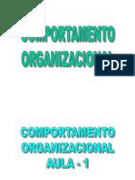 COMPORTAMENTO ORGANIZACIONAL-FINANÇAS