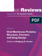 60163463 Viral Membrane Proteins Structure Function and Drug Design Protein Reviews