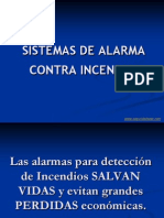 Sistemas Alarma Contra Incendios