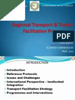 ECOWAS Regional Transport and Trade Facilitation Program Chris Appiah