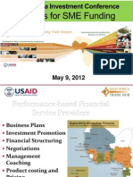 Options for SME Funding 2012