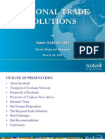 Regional Trade Solutions ECOBANK