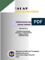 MAKALAH - Analisis Biaya Volume Laba