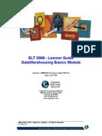 ELT 2006 - Learner Guide DW Basics v1 1 .0(2)