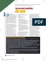 Article Reservoirmodeling