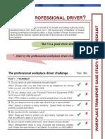 Driver Checklist