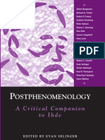 Postphenomenology a Critical Companion to Ihde S U N Y Series in the Philosophy of the Social Sciences