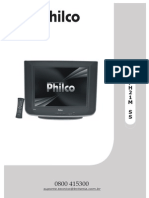 ESQUEMA TV PHILCO MOD. PH21M SS VERSÃO B