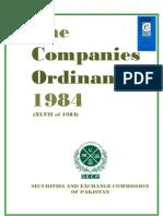 Companies Ordinance 1984