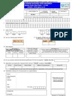 Ignou Application Format