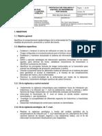Protocolo de Vigilancia y Control de Enfermedad por CHAGAS-INS