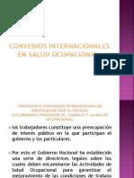 Convenios Internacionales en Salud Ocupacional