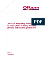 OfW48 UK Freq Allocations PtP