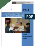 Manual Control de Calidad 2011