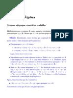 Introd Algebra - Exercicios Resolvidos 2 - Lenimar N Andrade