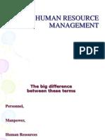 HRM(Slides)