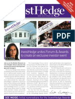 InvestHedge Forum & Awards Brochure 2012