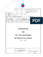 SPC-0804.02-70.02.12 Rev D2 GIS 115KV Switchgear