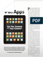 iPad Apps Pharma