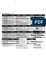 2012 Group Fitness